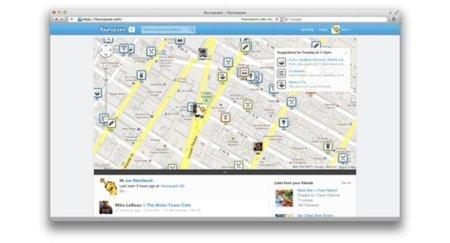 Foursquare enamora con su nueva web