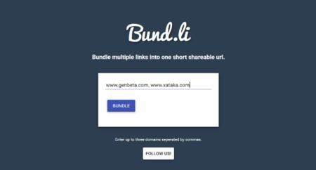 Cómo enlazar varios Links en una sola URL con Bund.li