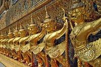 Guía de templos de Bangkok: Wat Phra Kaew o Templo del Buda Esmeralda