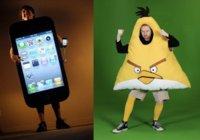 """Imagen de la semana: iPhone 4 y Angry Birds protagonistas del Halloween más """"geek"""""""