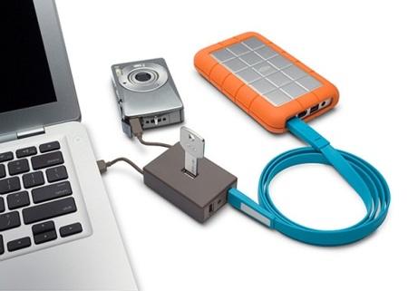 Lacie Core4 y LaCie Core7, hubs USB de diseño