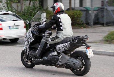 Nuevas fotos espía del BMW Concept C Scooter