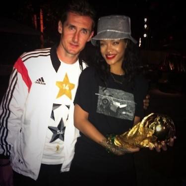 Alemania no ganó el Mundial de Fútbol, fue Rihanna... que lo sepáis