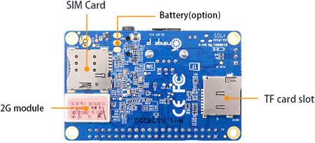 Cheap 2g Sim Card Linux Board