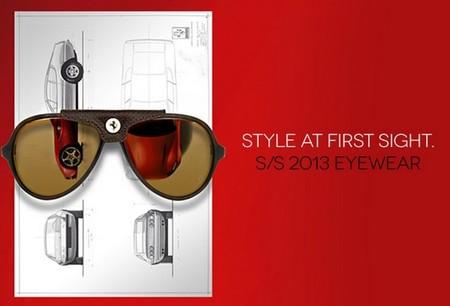 Nueva coleeción gafas de sol Ferrari primavera verano 2013