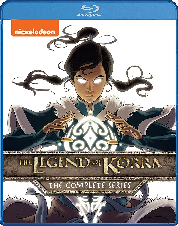 Avatar: La Leyenda de Korra en Blu-ray (serie completa)