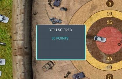 Darts with Cars, nuevo juego de Top Gear