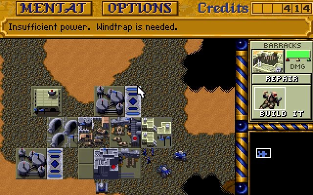 Dune 2 - The Building of a Dinasty (Westwood Studios, 1992)