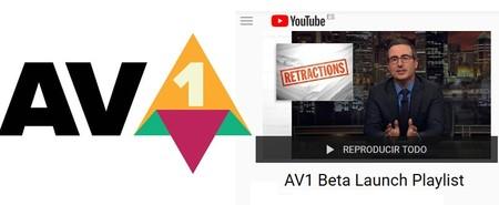 YouTube comienza a probar el formato de vídeo  AV1 y nosotros también podemos hacerlo desde esta lista