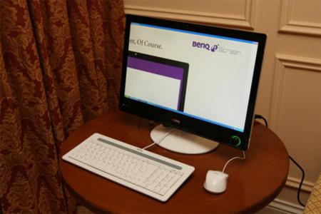 Benq también se apunta a la moda de los ordenadores todo en uno
