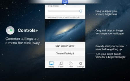 Controls, instala un Control Center en tu OS X