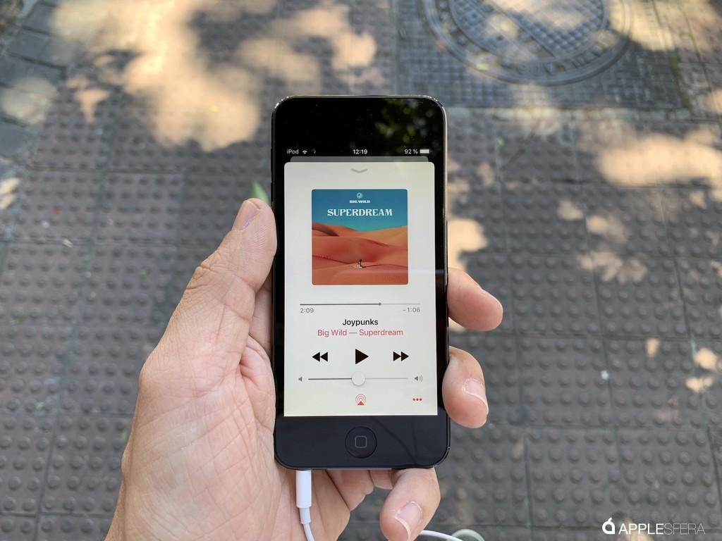 iPod touch 2019, primeras impresiones: pequeño, ligerísimo y potente