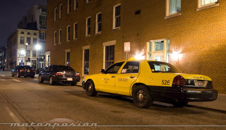 Taxi en Louisville, Kentucky, Estados Unidos