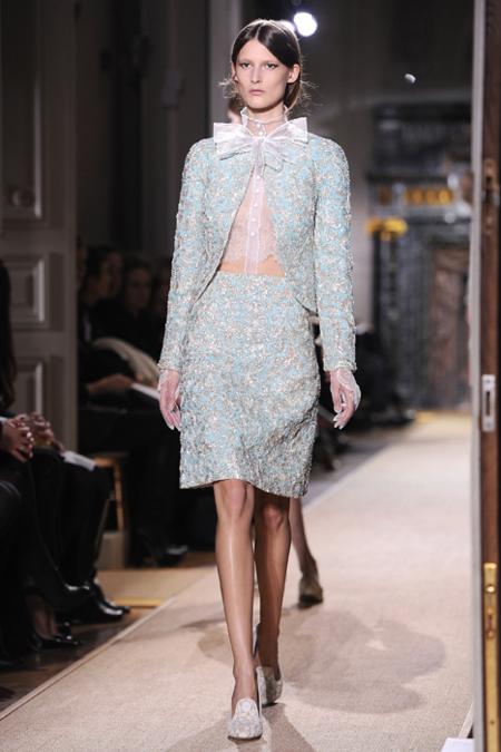 Conjunto Valentino Alta Costura Primavera-Verano 2012
