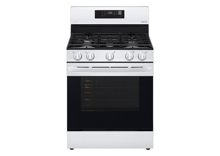 Gas Single Oven Range Silver