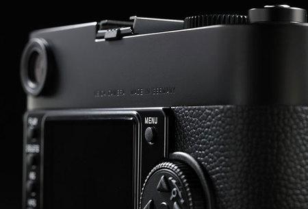 Leica M Monochrome back