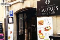 Restaurante Laurus, en la famosa Calle Laurel de Logroño