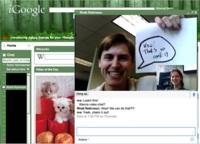 Google agrega video chat a iGoogle