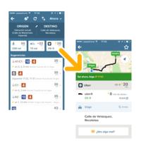 Citymapper suma una nueva opción de transporte en Madrid: UberX