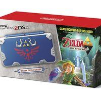 Si eres fan de Zelda, tienes que echarle un ojo a esta New Nintendo 2DS XL Hylian Shield Edition