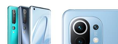 Del Xiaomi™ Mi diez al Xiaomi™ Mi 11, todo lo que ha cambiado