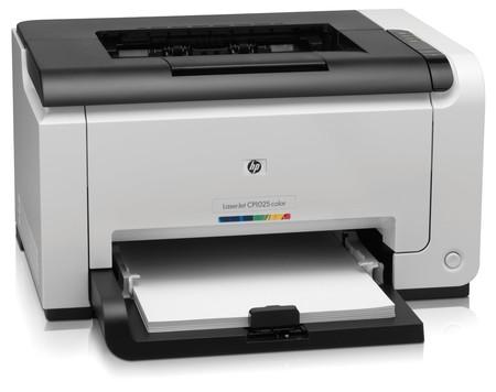 Impresora láser a color HP Laserjet PRO CP1025 por 99 euros y envío ...