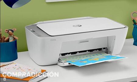 Si necesitas impresora y quieres gastar poco, Amazon te deja esta semana la HP DeskJet 2710 por sólo 49 euros