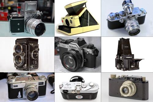 Estas son las ocho cámaras con las que algunos maestros hicieron varias de las fotografías más icónicas de la historia