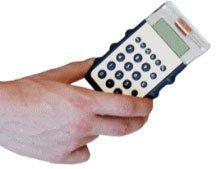Calculadora que se agita antes de usar