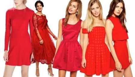 Vestidos Navidad Rojos