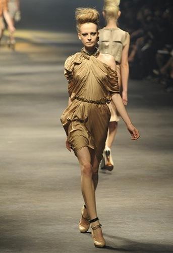 Lanvin, Primavera-Verano 2010 en la Semana de la Moda de París VII