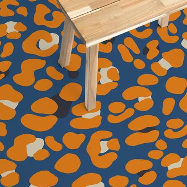 Animal print a todo color para los suelos más atrevidos