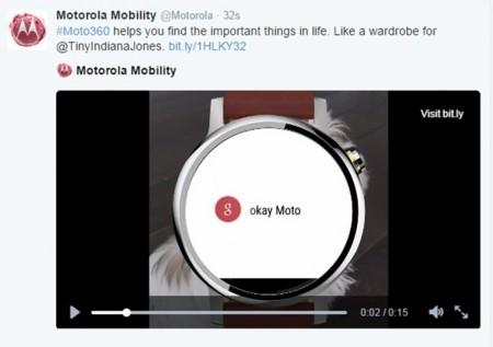 Motorola filtra por error el nuevo Moto 360