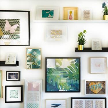 Cinco marcos de fotos minimalistas y elegantes que decoran cualquier rincón de la casa por muy poco