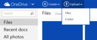 OneDrive te permite desde ya subir archivos de hasta 10GB