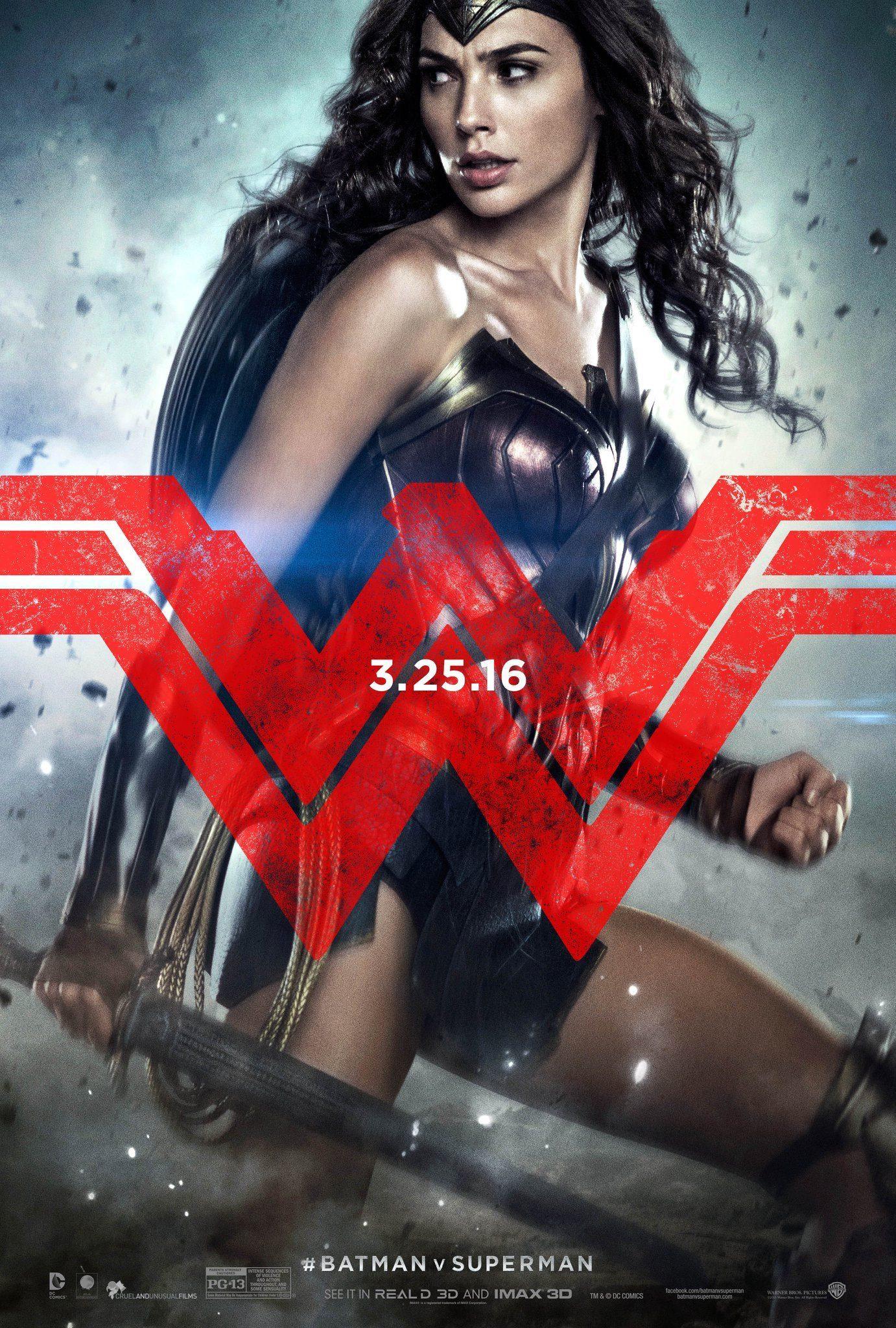 Foto de 'Batman v Superman', nuevos carteles de los protagonistas (3/3)