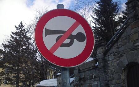 Claxon Senal Prohibido