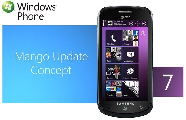 Windows Phone 7 concepto