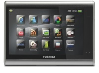 Toshiba Journe Touch, tableta de internet multimedia que falla en la autonomía