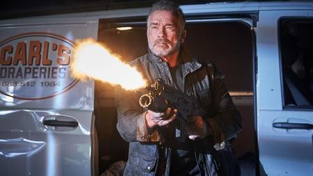 Arnold Terminator Destino Oscuro