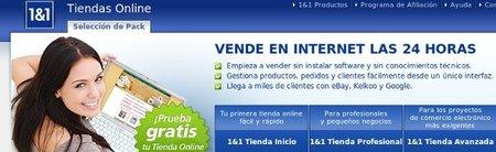 Tienda online con proveedores de alojamiento