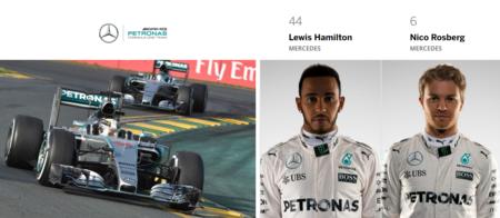 Mercedes Benz F1 Team