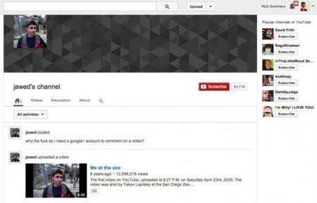 Co-fundador de Youtube se queja de la nueva implementación de G+ en los comentarios