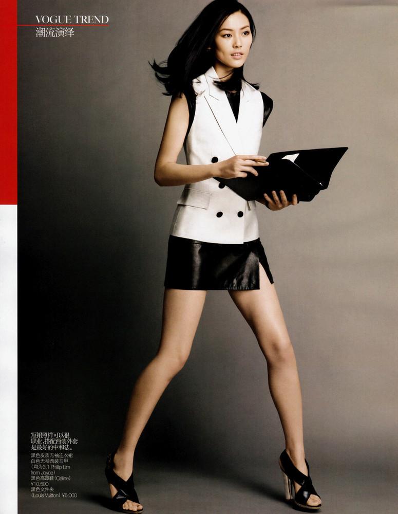 Foto de Liu Wen, una modelo china haciendo historia (18/20)