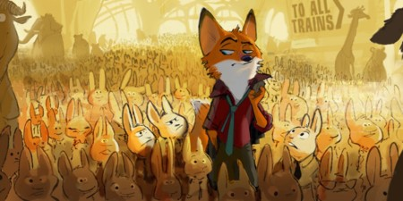 Zootopia Movie Pixar Concept Art