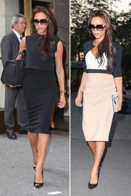 Victoria Beckham falda lapiz