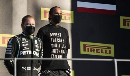 Hamilton Bottas Mugello F1 2020