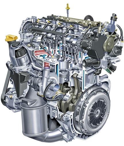 Opel Agila - Motor