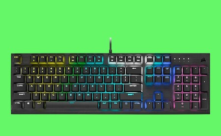 Si buscas teclado mecánico gaming, con RGB y por menos de 100 euros, échale un ojo a este de Corsair en oferta