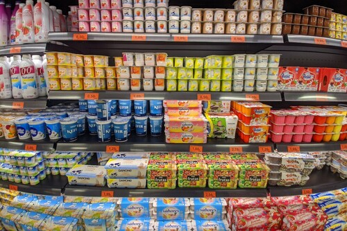 Los yogures de  Mercadona ordenados de más a menos saludables